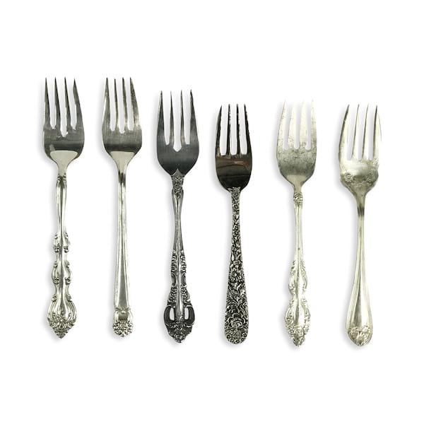 Vintage Silver Salad Forks