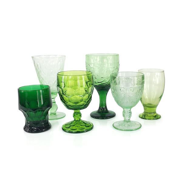 Bright Green Goblets