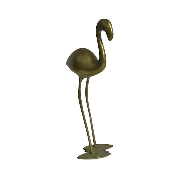 Brass Flamingo