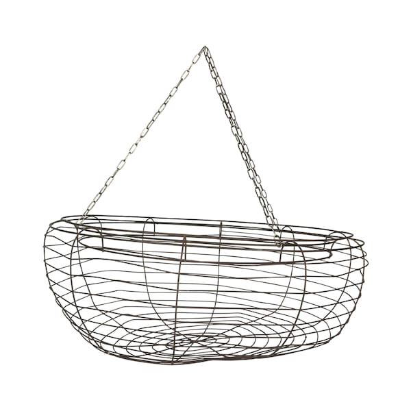 Large Hanging Wire Basket #2