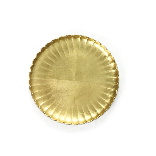 Scalloped Gold