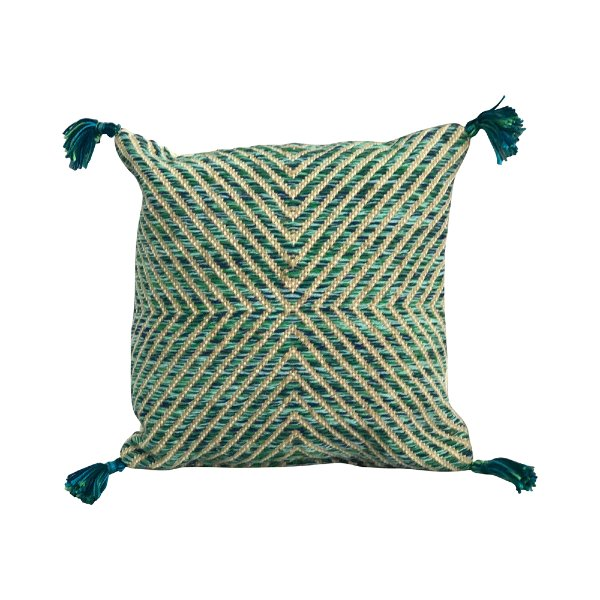 Blue/Green Tassle