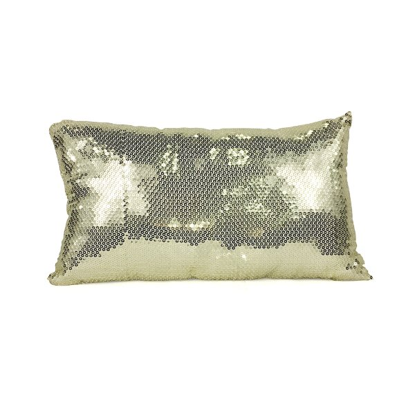 Champagne Sequin//Lumbar