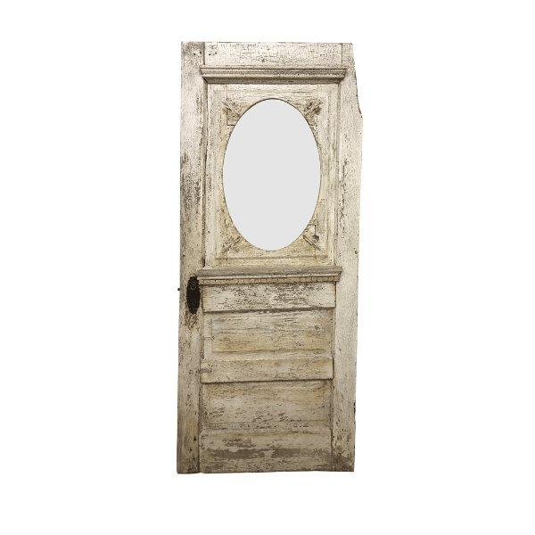 Vintage Oval Door