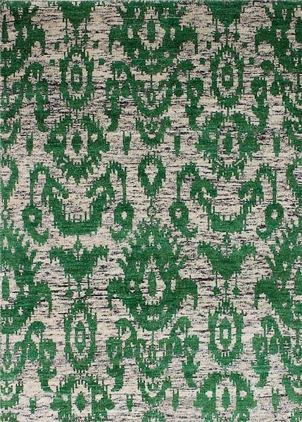 Sari Silk Green Rug