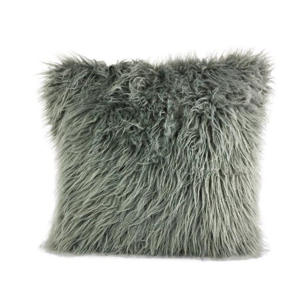Grey Faux Fur