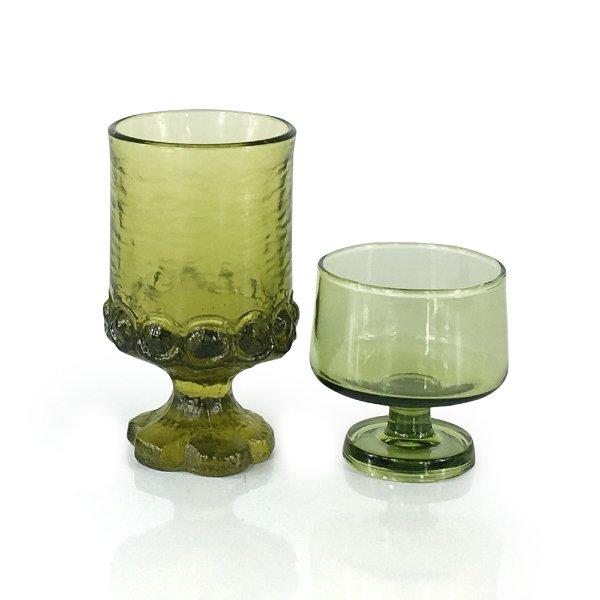 Green Juice Glass