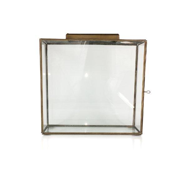 Glass/Gold Box Large