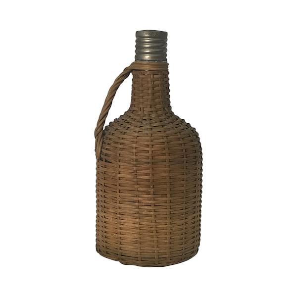 Small Wicker Bottle