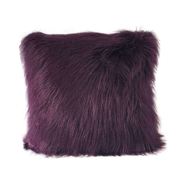 Purple Faux Fur