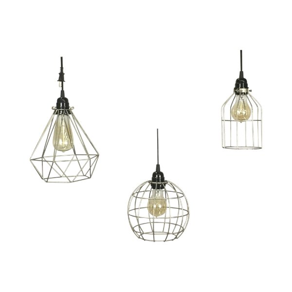 Industrial Caged Edison Lighting