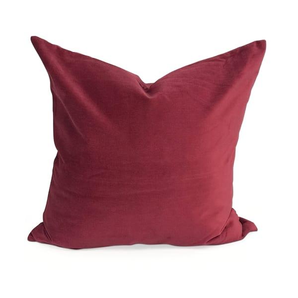 Velvet Dark Red