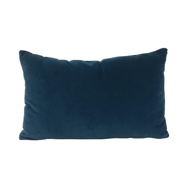 Blue Velvet Lumbar