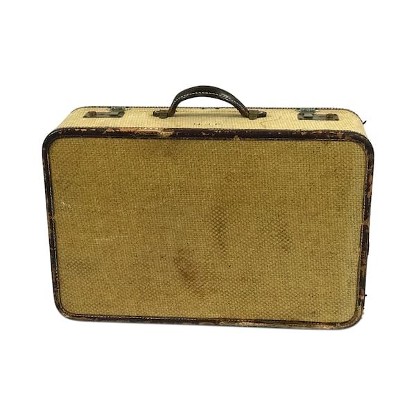 Grass Cloth Luggage