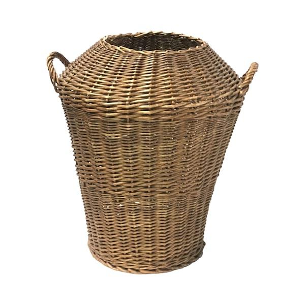 Floor Standing Rattan Basket #1