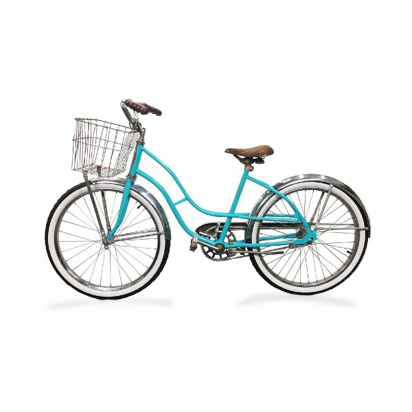 Vintage Turqoise Bike