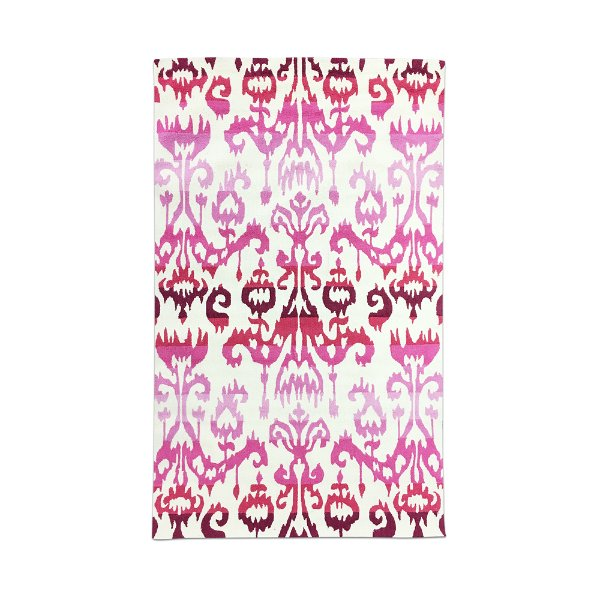 Pink Ombre Ikat