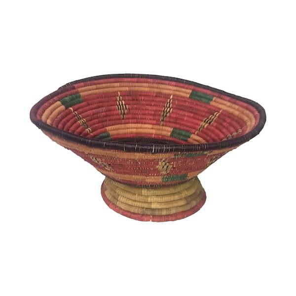 Spanish Pedestal Basket