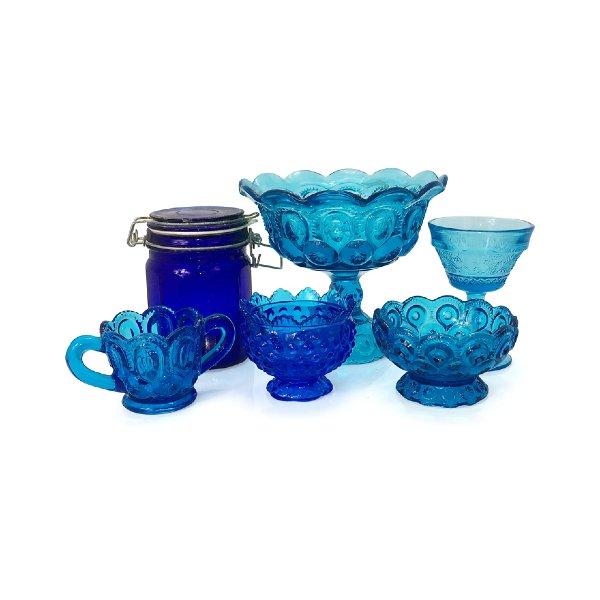 Blue Glass Vessels