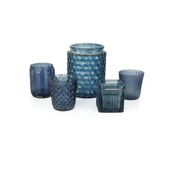 Smokey Blue Votives
