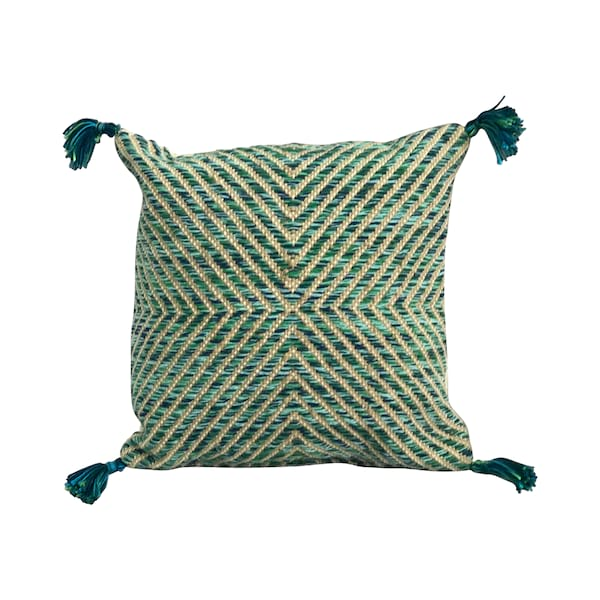 Blue/Green Tassle