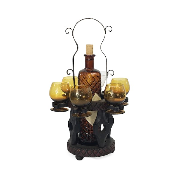 Cordial Decanter & Glasses