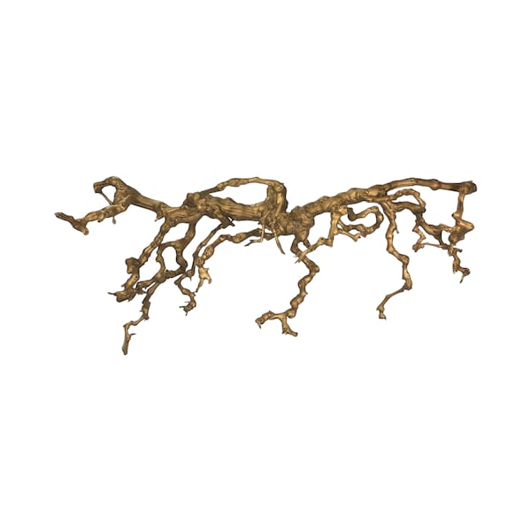 Gold Grapevine Branch