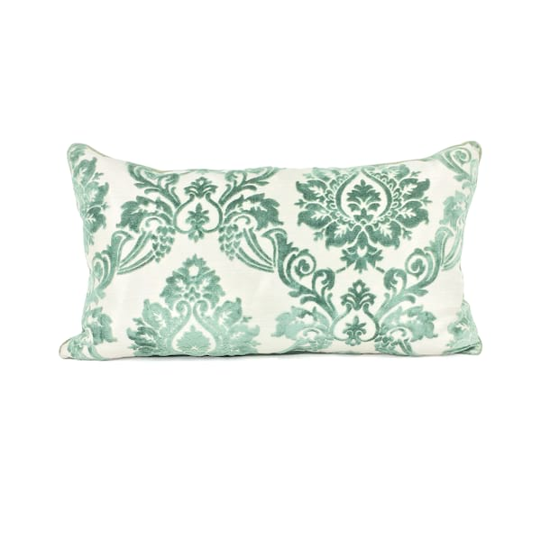 Sage Green Damask//Lumbar