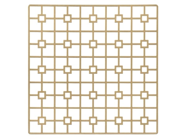 Gold Deco Metal Placemat