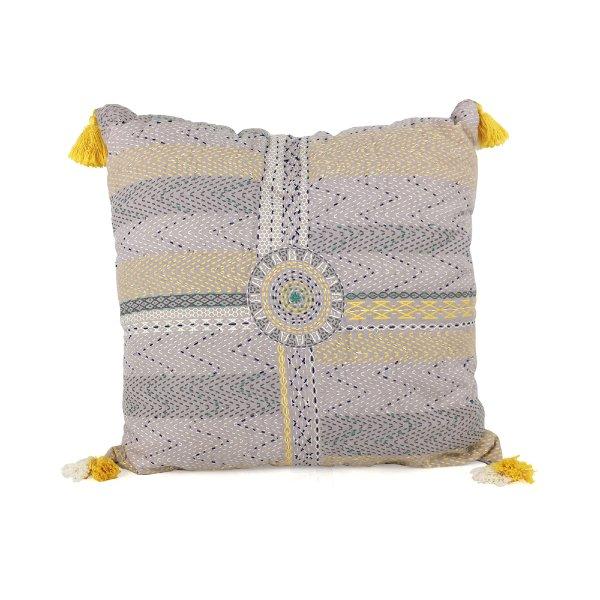 Lavender//Yellow Tassle