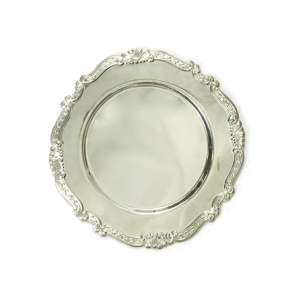 Vintage Silver Ornate