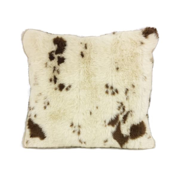 Faux Fur Cow Print