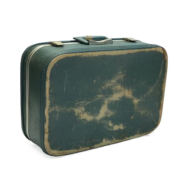 Dusty Blue Luggage