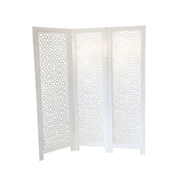 White Screen Divider