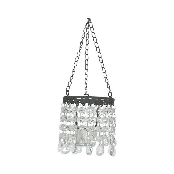 Vintage style hanging votive
