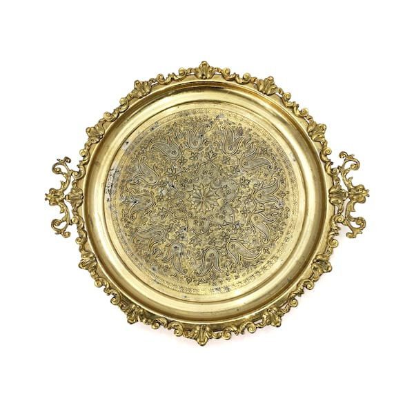 Gold Ornate Tray