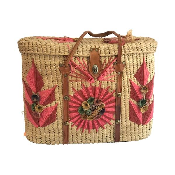 Vintage Acapulco Beach Bag #1