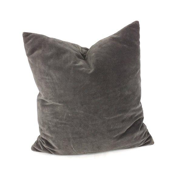 Slate Grey Velvet #1