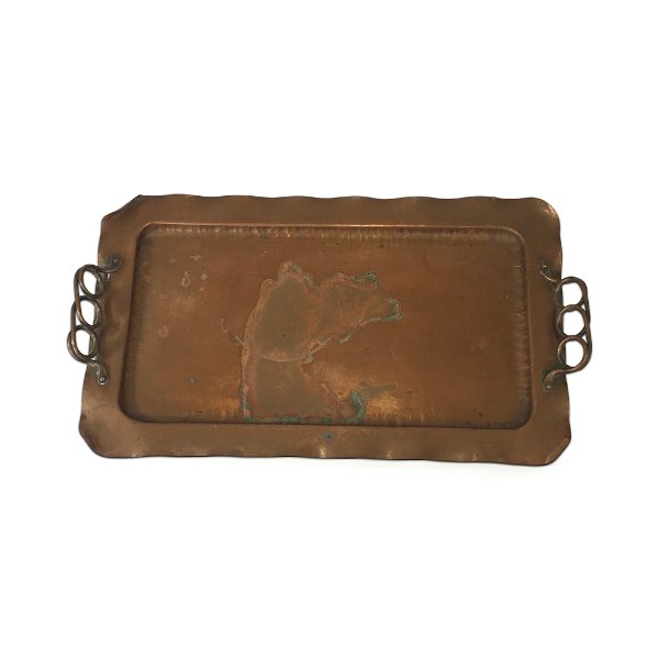 Copper Handle Tray