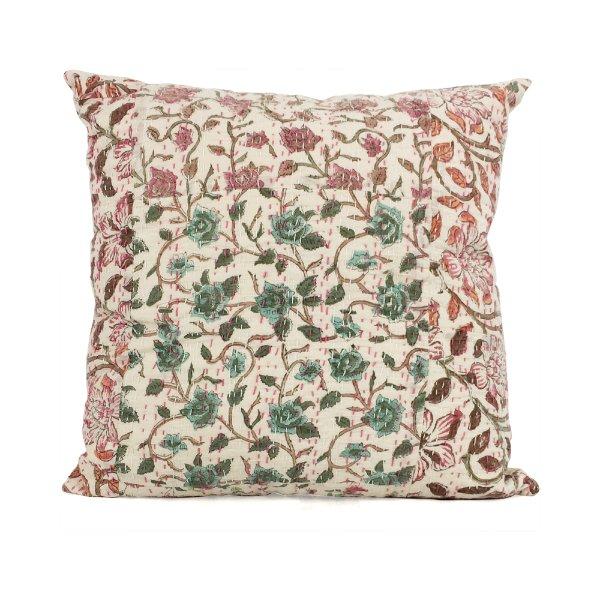 Floral Kantha Cloth #1