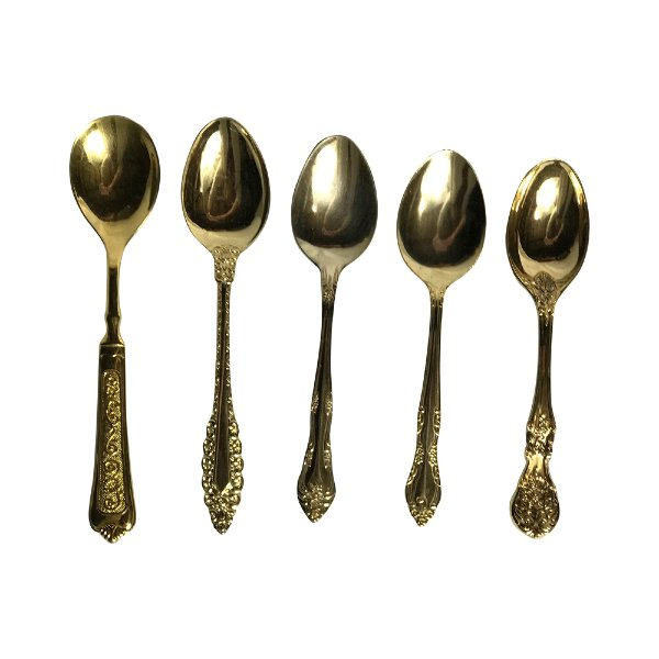 Vintage Gold Tablespoons