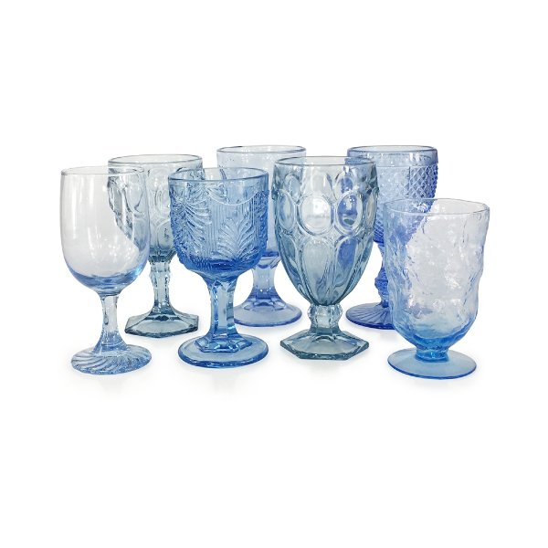 Light Blue Goblets