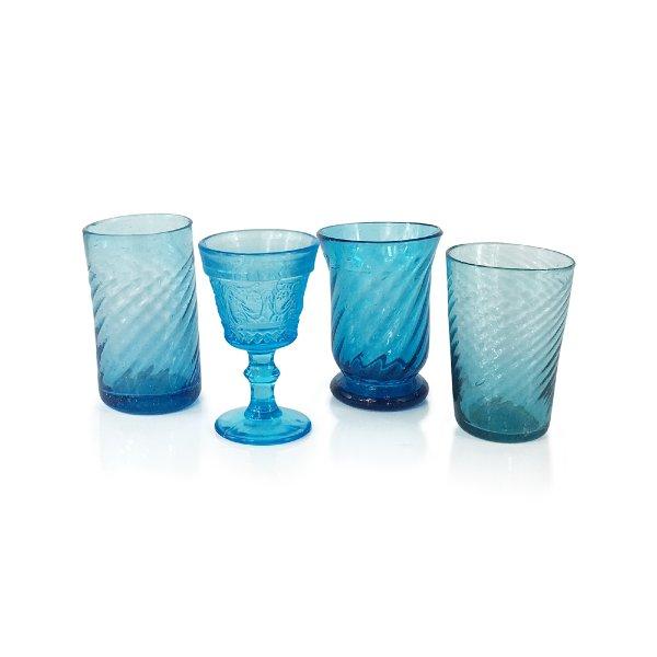 Aqua Juice Glass