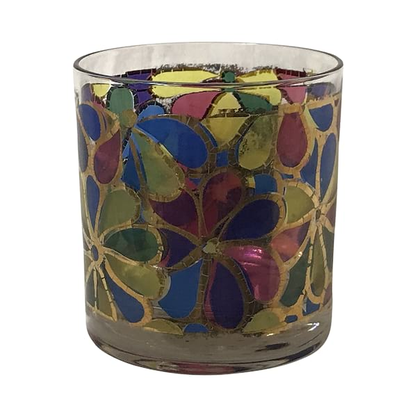 Kaleidoscope Rocks Glasses