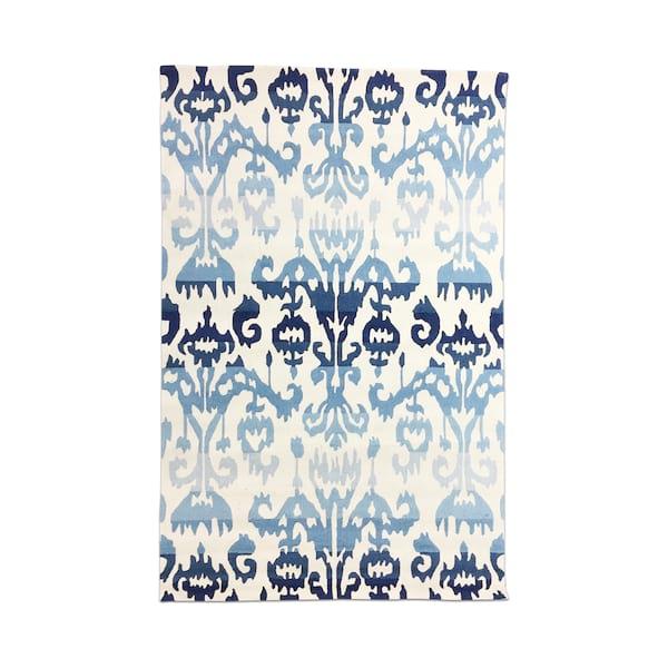 Blue Ombre Ikat