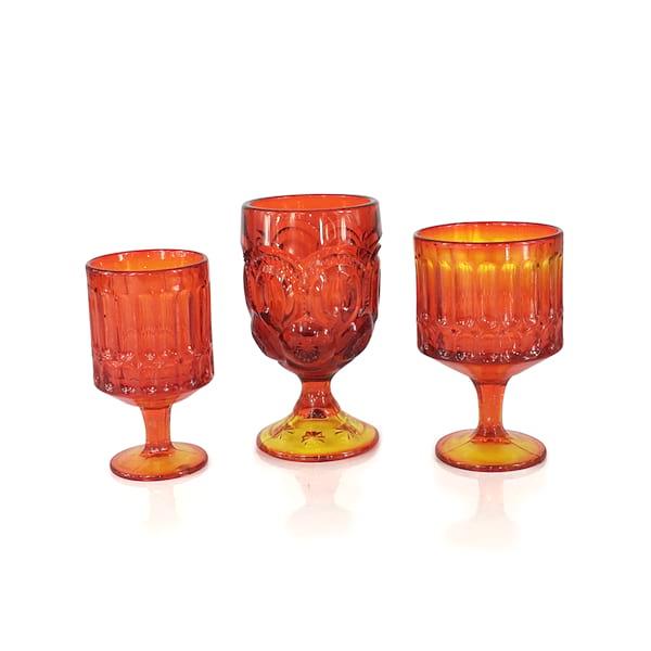 Orange Goblets