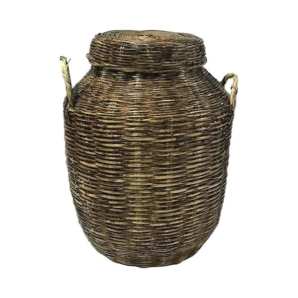 Rattan Floor Standing Basket #2