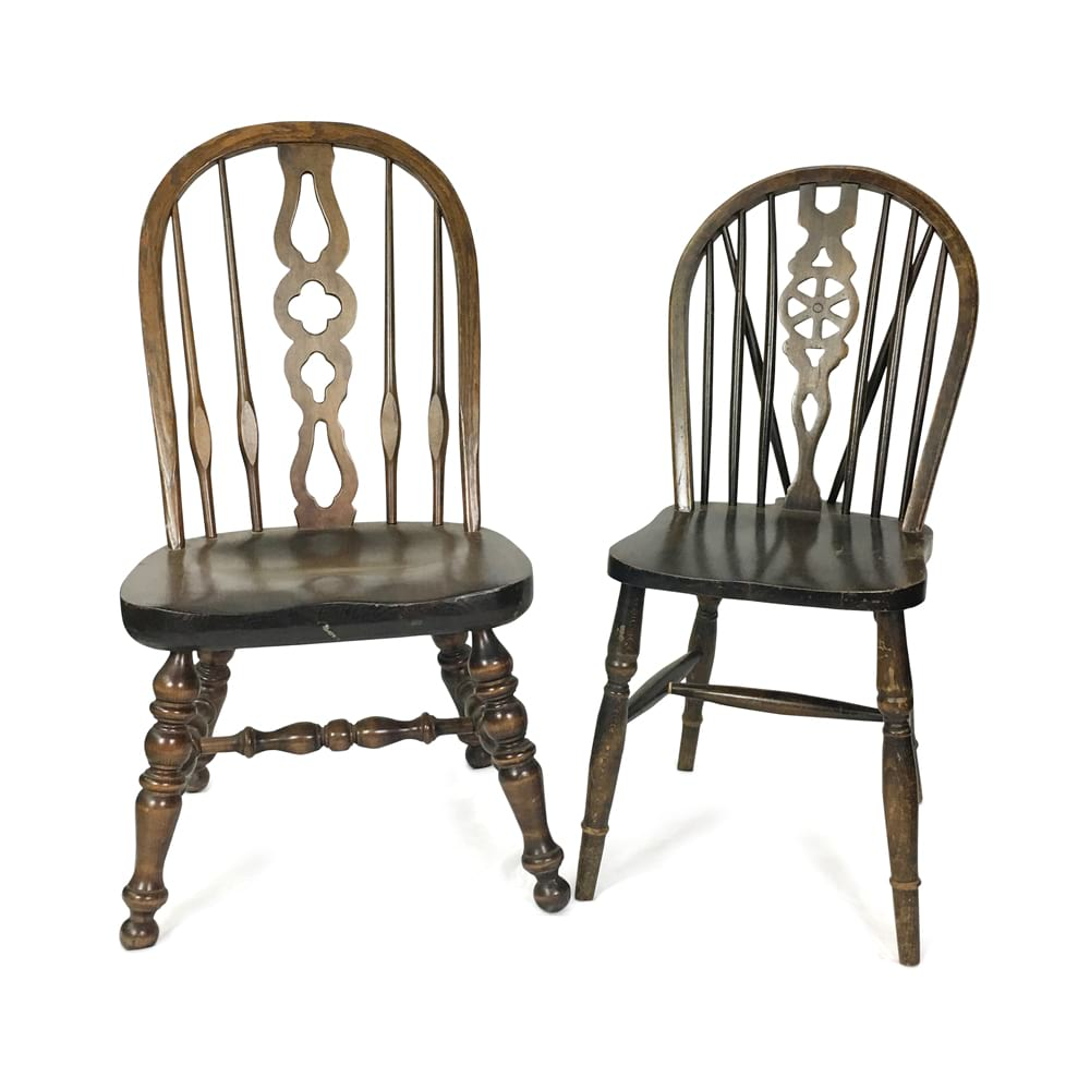 Vintage Wood Chairs