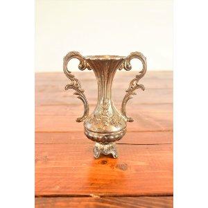 Small Silver Decorative Vase
