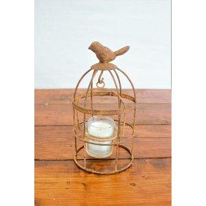 Rusty Small Bird Cage
